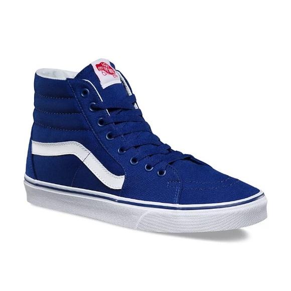 7a34a7b9 Vans Shoes | Sk8his La Dodgers Mens Brand New In Box | Poshmark